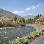 Der Wang Chu in Thimphu, Bhutan