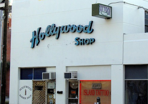 hollywood barber shop