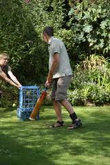 Howzat! (Johnny2bad) Tags: summer dave garden manchester farm great rob lancashire cricket batting goodtimes wigan billinge greenslate j2b johnny2bad