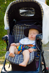 Stroller Snooze (Christomopher) Tags: family baby aiden pollock