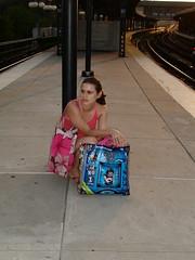 carolina (paperocks a.k.a evalinda) Tags: sunday brightonbeach mysister waitingforthetrain summer2006