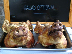 salad optional (estherase) Tags: uk stilllife food london sign dead nose pig salad findleastinteresting market head text pork pigs boroughmarket photofriday tray blogged borough bristles blackboard southwark myfave oink snout bestfriends optional myfaves decapitated faved decapitation purge momentomori emssimp explored purgesurvivor at pinkyandperky thislittlepiggywenttomarket redbubble lblcomp001 esthersfaves 250311