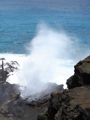 Makapuu Blowhole (Jeremy Castillo) Tags: ocean nature blowhole makapuu