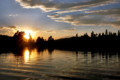 Sunset Over the Lake (lawatha) Tags: trees sunset sun lake reflection water washington interestingness sundown wa etsy delete1 poe colville whitemudlake saveit saveit2 deleteit2 saveit3 saveit4 saveit6 saveit7 saveit8 saveit9 saywa mywinners saveit5terminalorbit saveit10fornorthnitwit gottalovethatlasttag