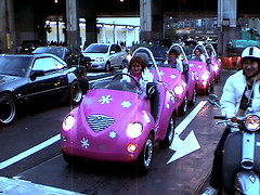 Coach Cars in Shibuya? What? (TRUE 2 DEATH) Tags: car promotion japan japanese tokyo coach automobile metro shibuya  nippon  japon nihon japn nihonjin   tky  newlight shibuyaku