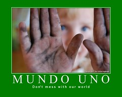 Mundo Uno - a call for peace (lutterlagkage) Tags: lutterlagkage lutterlagkagedk mundouno blackribbonicon unomotivator