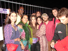 my romanian friends lila downs and me (_tonidelong) Tags: friends me festival downs hungary budapest 2006 lila sziget