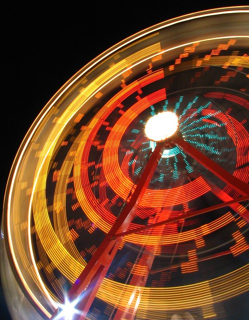 Ferris Wheel  #2 blurred motion