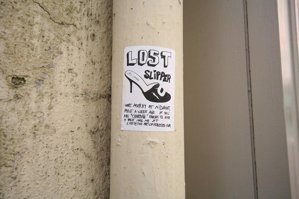 LOST SLIPPER