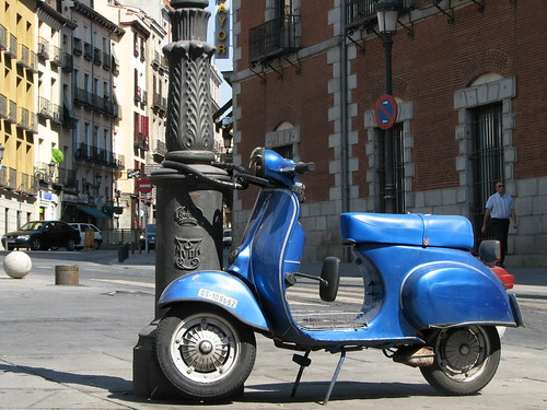 Vespa in Madrid