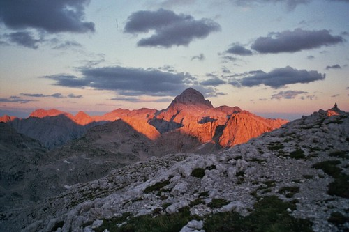Triglav, the highest mountain in Slovenia