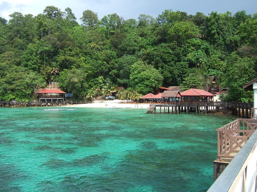 Hermosa vista de Pulau Payar
