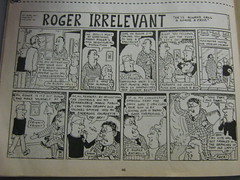 VIZ: Roger Irrelevant (Eleventh Earl of Mar) Tags: silly vintage insane crazy comedy comic rude laugh mad filth nutty daft wacky vile viz obscene loony putrid early1990s rogerirrelevant