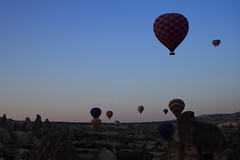 Primeros instantes (daniel vasco) Tags: sky colors turkey balloons cel cielo globos turquia capadocia