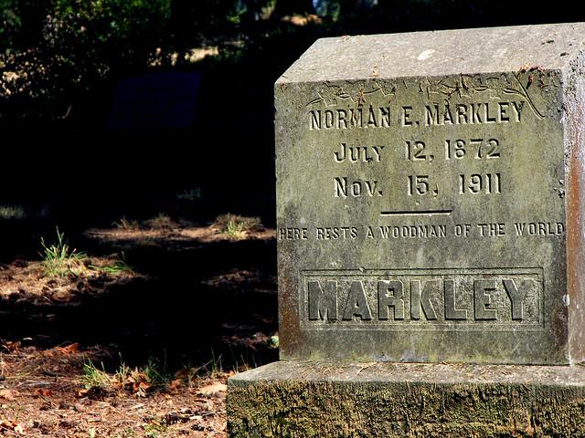Markley Grave