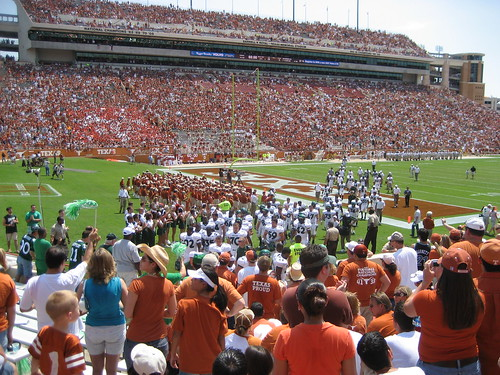 The rest of North Texas leave the field