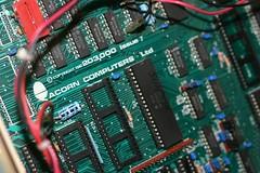 BBC B - PCB (barnoid) Tags: computer 1982 chips retro acorn electronics bbc motherboard pcb microcomputer retrocomputing vintagecomputer modelb 6522