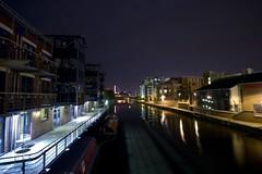 River Aire, Leeds, UK (tricky (rick harrison)) Tags: bridge night river leeds wharf aire afterdark regeneration tetley brewary