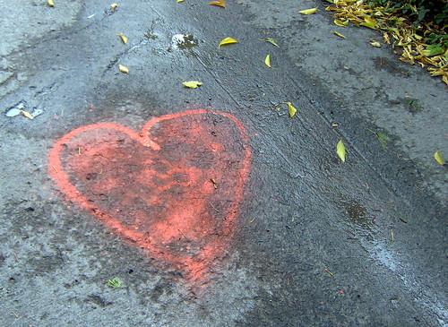 cœur improvisé