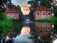 Sunset at Oostendorper Watermolen (Christiaan Leever NL) Tags: sunset mill water netherlands hdr watermill twente molen haaksbergen watermolen wassermhle oele oeler artlibre oelerwatermolen artlibres oostendorperwatermolen