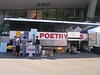 poetry bus setup on launch day
