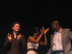 The stars of Last King of Scotland -- James McAvoy, Kerry Washington, and Forrest Whitaker (Rachel Says Hi) Tags: torontofilmfestival torontointernationalfilmfestival jamesmcavoy kerrywashington forrestwhitaker 2006torontointernationalfilmfestival lastkingofscotland