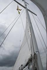 Anglų lietuvių žodynas. Žodis sailed reiškia išplaukė lietuviškai.