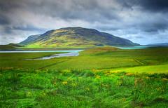 Bispesete (Photomatix version) (Krogen) Tags: nature landscape island iceland kultur natur culture olympus krogen c50 photomatix