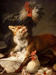 Fox in a Chicken Yard by Jean-Baptiste H by mharrsch, on Flickr