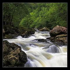 Cascade (Stu Worrall Photography) Tags: nature water wales forest river waterfall long exposure north tres waterblur betwsycoed snowdonia cascade afon interestingness6 llugwy specland stuworrall stuartworrall