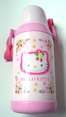 Hello Kitty strawberry thermos (pkoceres) Tags: pink japan lunch strawberry hellokitty sanrio bento thermos      boughtonebay  hellokittystrawberry