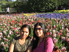 Joya, Me and the flowers at Floriade (Princess_Fi) Tags: flowers canberra floriade