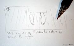 Sketch 9 (CarlosBravo) Tags: film rio monster pencil dead sketch scary fear ghost peliculas cine haunted muerte fantasy fantasia pies horror terror