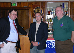 Richard Sternberg, Candidate for the 39th District and Erik Schramm & Billy Taylor (Markell Flickr) Tags: sussexcounty statetreasurerjackmarkell delawaredemocrat
