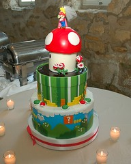 Mario Bros Cake - by alt text