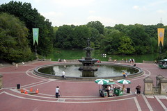 NYC - Central Park: Bethesda Terrace (wallyg) Tags: park nyc newyorkcity ny newyork fountain nhl centralpark manhattan landmark gothamist neoclassical bethesdafountain thelake bethesdaterrace angelofthewaters nationalhistoriclandmark thearcade nationalregisterofhistoricplaces usnationalhistoriclandmark nrhp angelofwaters thewaterterrace usnationalregisterofhistoricplaces newyorkcitylandmarkspreservationcommission nyclpc sceniclandmark