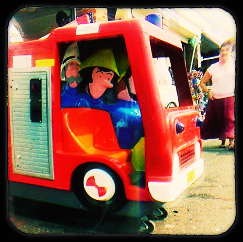 Fireman Sam ride by sandge