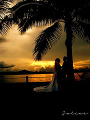 Forever Love (J u l i u s) Tags: wedding sunset sky art love clouds happy hotel interesting coconut philippines romantic sabin ormoc flickrclickr photographyinterest iipcphoto