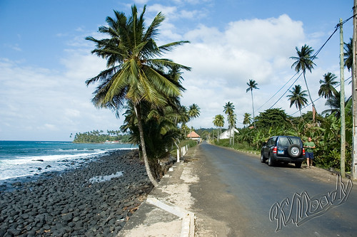 São Tomé Road South. Photo by Inna Moody