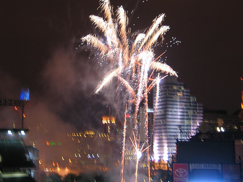 Camden Yards Fireworks!