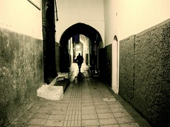 Wandering shadow of the medina - by Alexbip