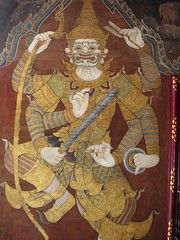 Bangkok Palace wall painting