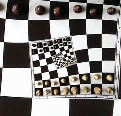 (1,-1) (gadl) Tags: white black infinity chess recursive chessboard drosteeffect droste recursivity drostep21 drostep11