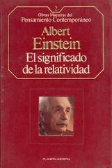 Albert Einstein, El Significado de la Relatividad