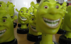 Shrek'n'Z (visioncity) Tags: green fun cool shrek head bobble wasniowski mwas visioncity