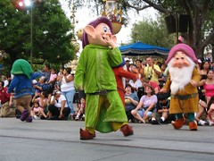 dopey and the dwarfs