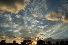 Amazing sky (iku+) Tags: sunset sky nature specnature