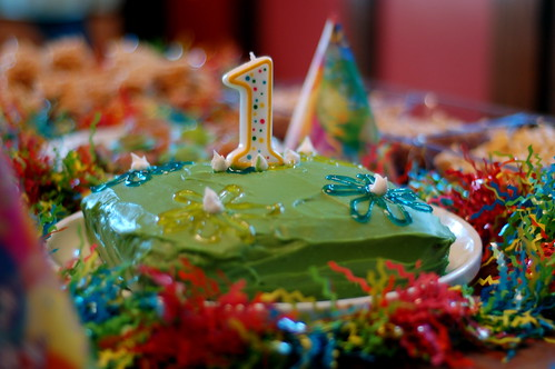 first birthday! by smcgee, on Flickr