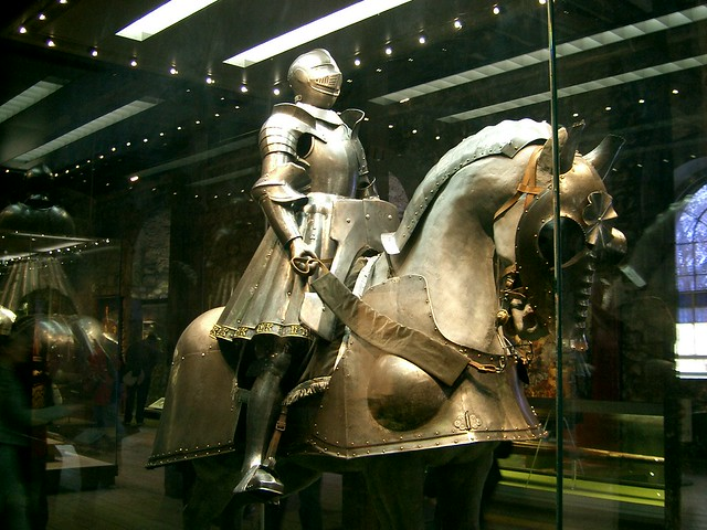 Display Inside the Tower of London