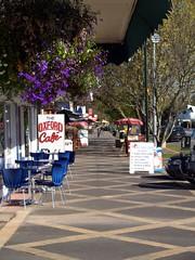 Tirau Cafe Row (Catching Magic) Tags: newzealand home cafe village olympus waikato e300 tiraudan tirau